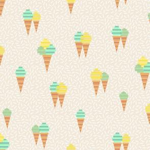 Icecream Pinata (mint)