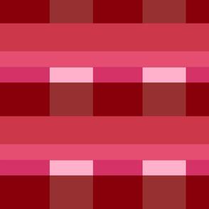 Modern Stripes - Berry