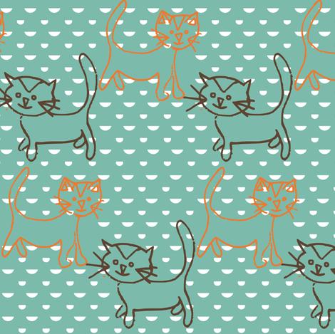 kitkat fabric by bruxamagica on Spoonflower - custom fabric