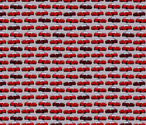 Miata fabric by em_birdie on Spoonflower - custom fabric