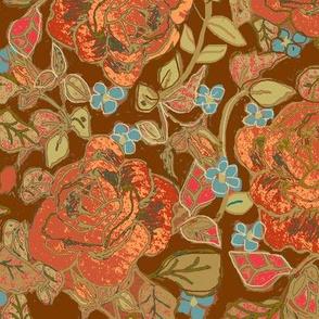 Orangey Rosey