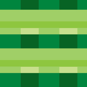 Modern Stripes - pine