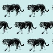 Tiger Prowl - Aquamarine