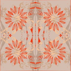Paint Splash-Coral and Sand