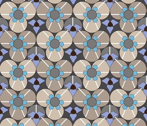 Kaleidoscope Opal fabric by designsld on Spoonflower - custom fabric