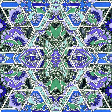 Do the Diamond Twister fabric by edsel2084 on Spoonflower - custom fabric