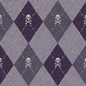Arrgyle-Pirate Grey