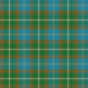 Clerke of Ulva tartan - light