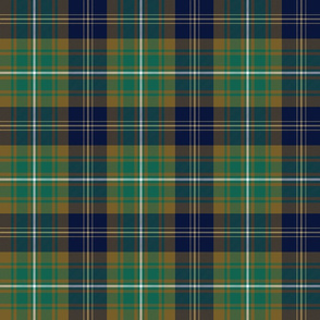 Clerke of Ulva tartan - dark