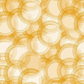Gold colored Bubbles