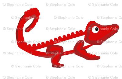 Fiery Croc