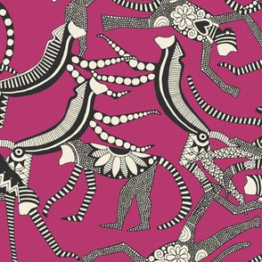 monkey pink