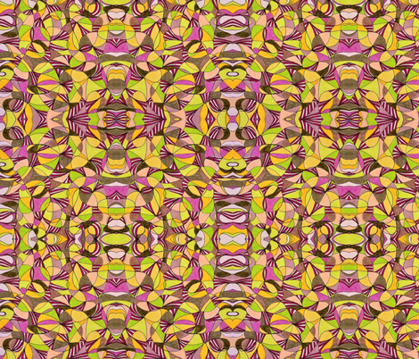 People Gone Bananas II fabric by unclemamma on Spoonflower - custom fabric
