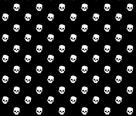 Skulls fabric by ireneflorentina on Spoonflower - custom fabric