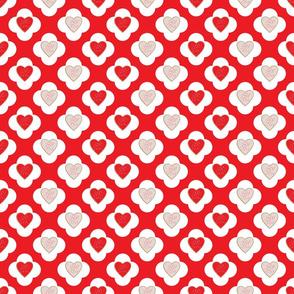 Valentine Cookie Fabric