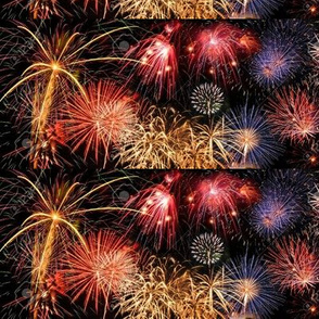 7803735-Fireworks-of-different-colors-over-a-night-sky-Extra-large-size-Stock-Photo