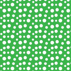 Whimsical Green Dot
