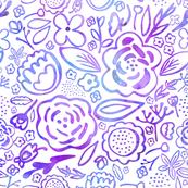 Floral Explosion (Purple)