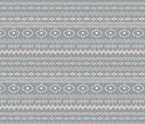 Rhand_drawn_tribal_stripe_grayblue_shop_preview