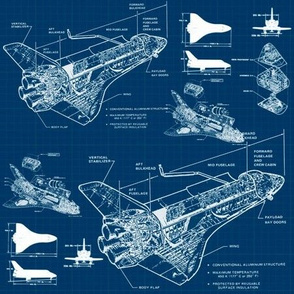 Shuttle Blueprints