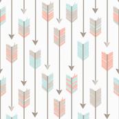 Tribal Arrows Pattern Fabric