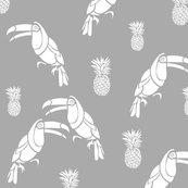 Toucan_et_ananas_gris_blanc_shop_thumb