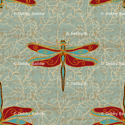 Dragonflies deluxe