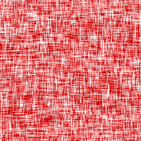 LARGE Red + white linen-weave by Su_G fabric by su_g on Spoonflower - custom fabric