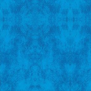 Cobalt blue kaleidoscope
