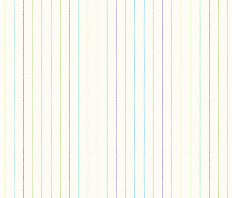 Blue Green Purple Stripes fabric by lilafrances on Spoonflower - custom fabric