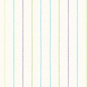 Blue Green Purple Stripes