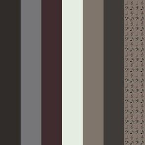 Antiphonal Vertical Stripes