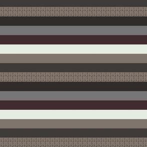 Antiphonal Horizontal Stripes