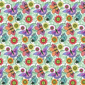 Deco Butterflies Lavender