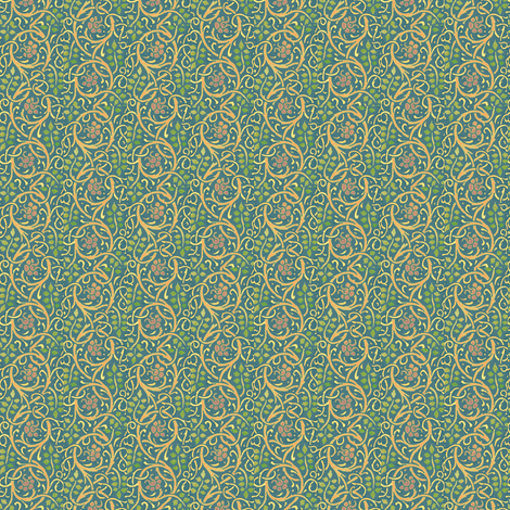 Aurora Brambles Empire fabric by amyvail on Spoonflower - custom fabric