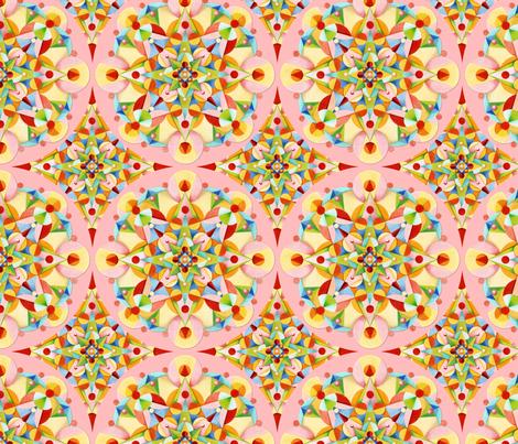 Pink Pastel Carousel fabric by patriciasheadesigns on Spoonflower - custom fabric