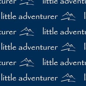 little adventurer // navy