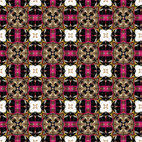 princess pink plaid fabric by janbalaya on Spoonflower - custom fabric