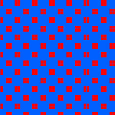 Red_Squares fabric by barbt on Spoonflower - custom fabric