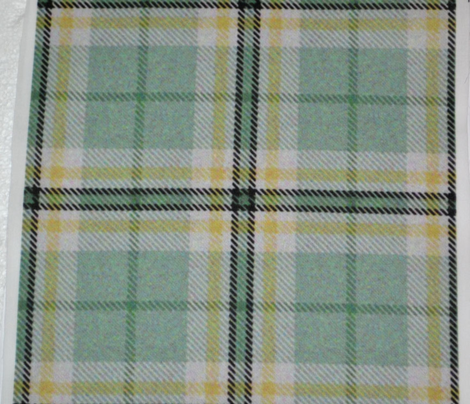 Spring Easter Plaid Green