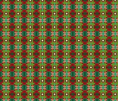 Alpine Christmas fabric by ktd on Spoonflower - custom fabric