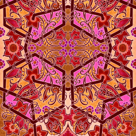 Autumn Fire in the Air fabric by edsel2084 on Spoonflower - custom fabric