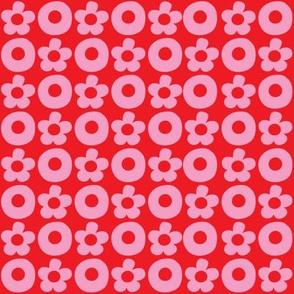 XOXOXO pink on red_©Solvejg_J_Makaretz