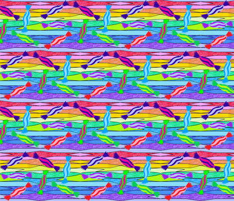 Pinata_lollies fabric by golden_bloxxer on Spoonflower - custom fabric