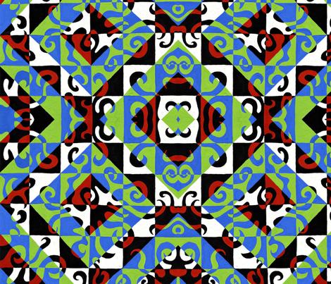 CheckerboardSeth fabric by garren on Spoonflower - custom fabric