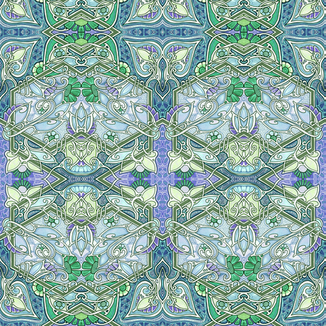 Why Aren't Doghouses Made of Dogwood fabric by edsel2084 on Spoonflower - custom fabric