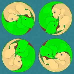 Yin Yang Dinosaurs
