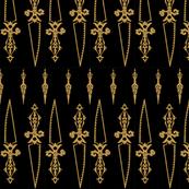 Queen Daggers Mourning Dress