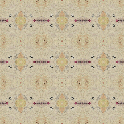 45_-_Castle_neutral_square fabric by lil_enterprises on Spoonflower - custom fabric
