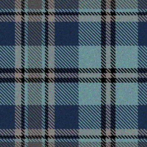 Trendy Blue Plaid 2 fabric by eclectic_house on Spoonflower - custom fabric